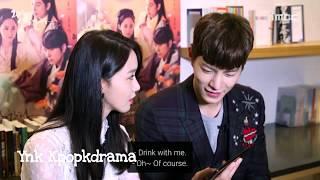 Hong jong hyun always take care serve yoona for drinking