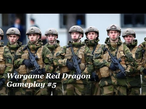 WARGAME RED DRAGON - GAMEPLAY #5 - Broken Arrow!