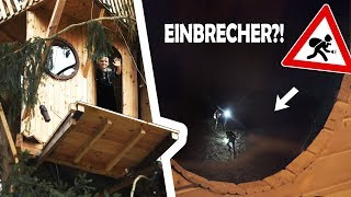 This is why we built a DRAWBRIDGE for our TREEHOUSE! | Finally safe from burglars!