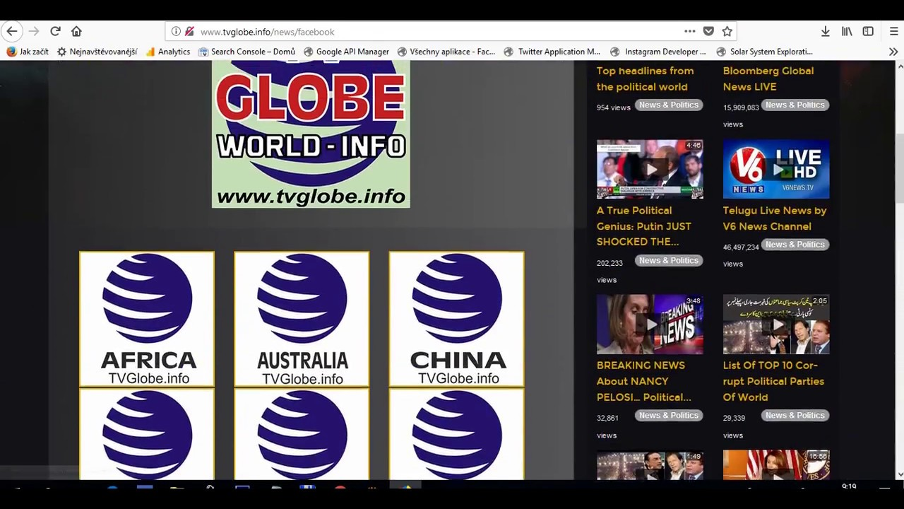 TVGlobe.info - world - info - statistic - video