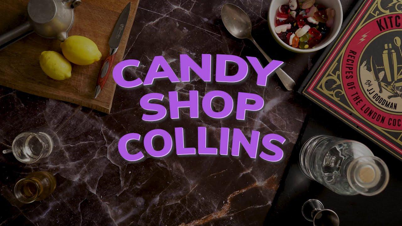 Candy Shop Collins Cocktail