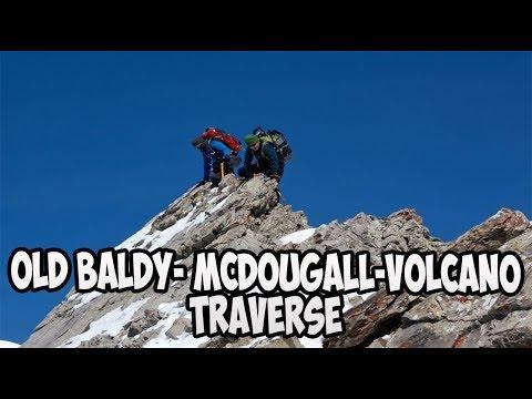 Old Baldy Mt - Mt McDougall - Volcano Peak Traverse
