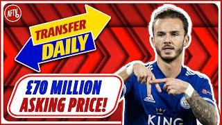 £70 Million Asking Price Set For Maddison Plus Interest InBoubacar Kamara!   AFTV Transfer Daily