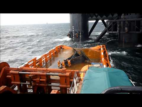 AH + Tow Operations Castoro 6 - Nordstream pipeline Baltic.wmv