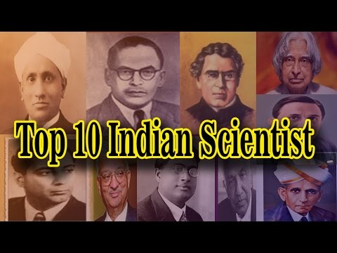 Top 10 Indian Scientist