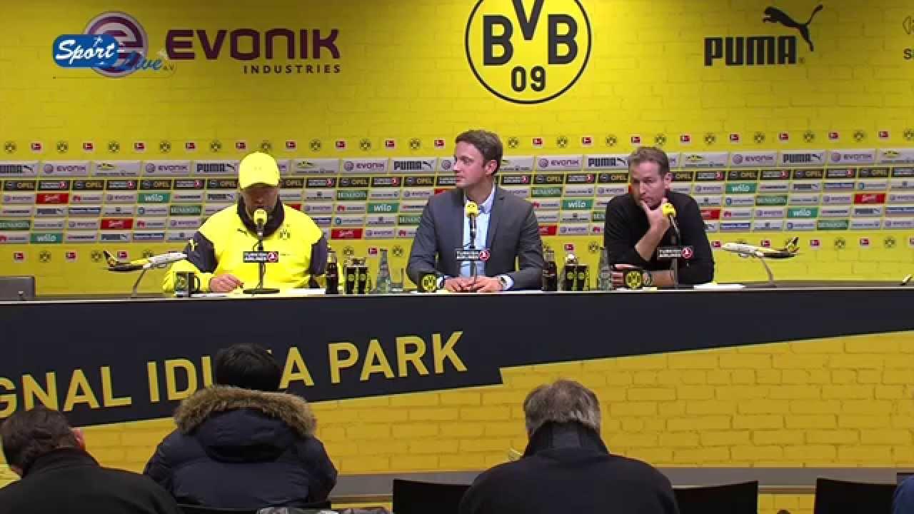 BVB-Bundesliga-PK nach Borussia Dortmund - 1. FSV Mainz 05 4:2