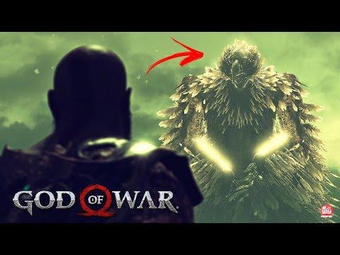 GOD OF WAR : MODO FOTO - DETALHES INCRÍVEIS DA ÁGUIA DE HELHEIM E CASA DA FREYA