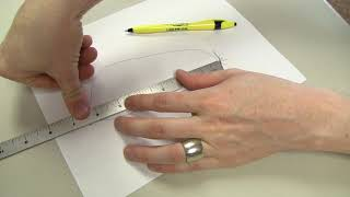 How to | Size for Fast Fit by tracing the foot