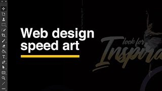 Web design speed art 🍋
