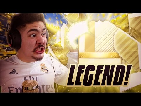 WTF! LEGEND IN A PACK! - FIFA 17 ULTIMATE TEAM