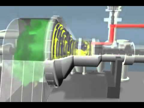 steam turbine operation - YouTube