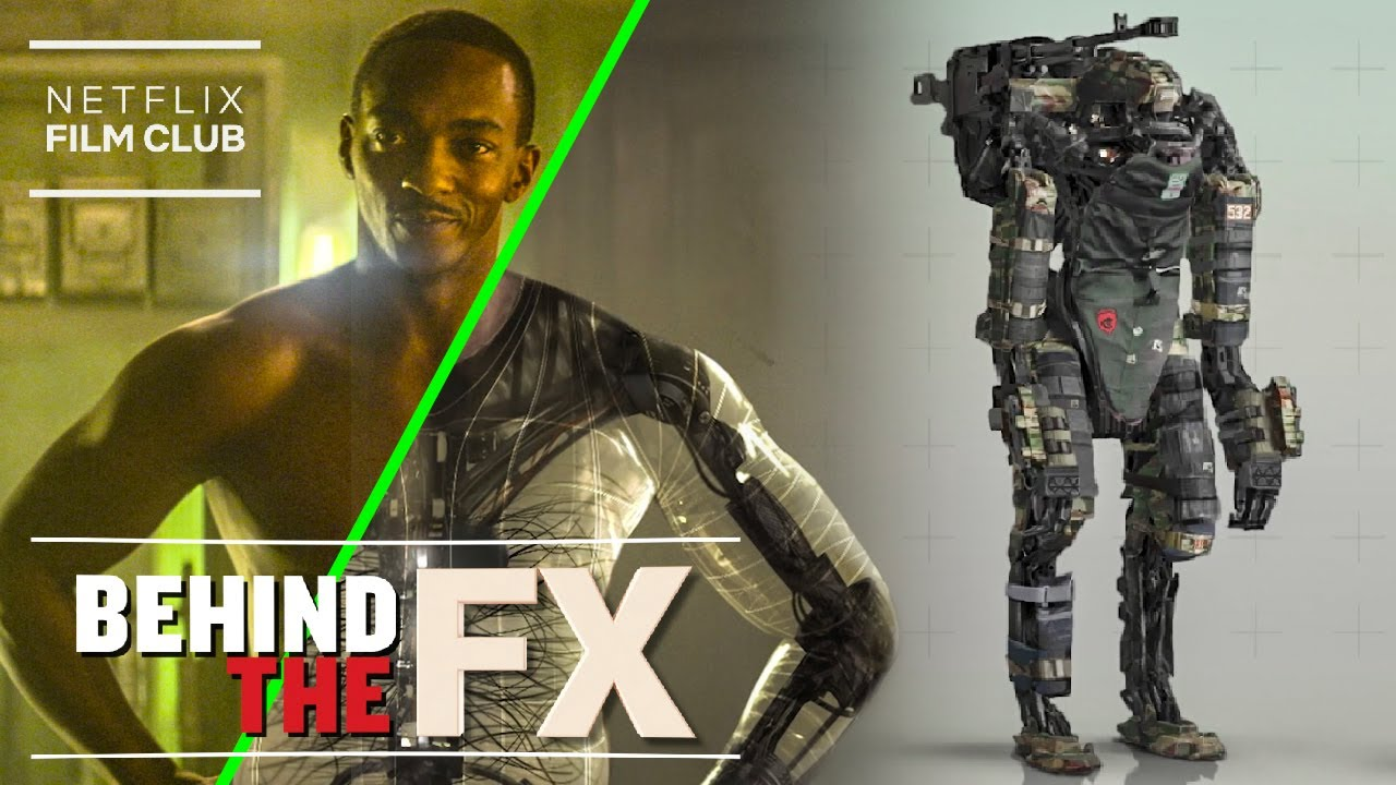Download Outside The Wire's Groundbreaking Visual Effects Explained | Netflix
