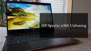 HP Spectre x360 13 Unboxing (Canada)