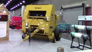 Vermeer Exhibit at the 2016 National Farm Machinery Show