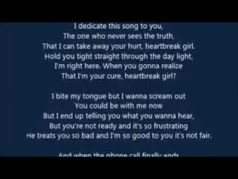 5 Seconds Of Summer - Heartbreak Girl (LYRICS)