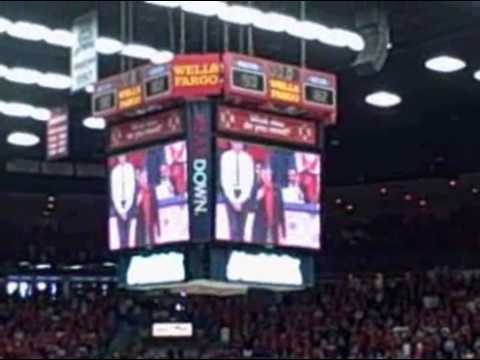 March 5, 2011: Arizona Wildcats Pac-10 basketball championship ceremony
