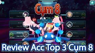 Review Acc Top 3 Champion Cụm 8-Sever 460 Đã Sở Hữu Cho Mình Ultra Moon Cực Khủng