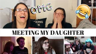 MEETING MY DAUGHTER! - SHANE DAWSON I OUR REACTION! // TWIN WORLD