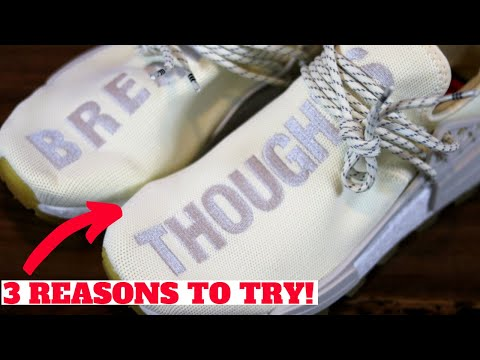 3 REASONS TO TRY adidas PHARRELL HUMAN RACE NMDs!