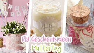 EINFACHE DIY GESCHENKIDEEN zum MUTTERTAG | Himbeerbonbons, Raffaello-Creme | LAST MINUTE