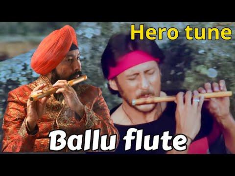 Hero Flute Instrumental In Wedding Reception By Baljinder Singh Ballu Flute