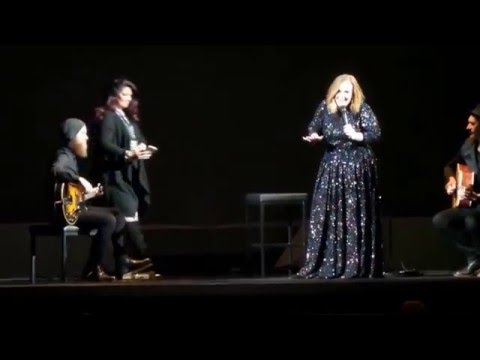 Adele - Talking. Live At Genting Arena, Birmingham, April 2016