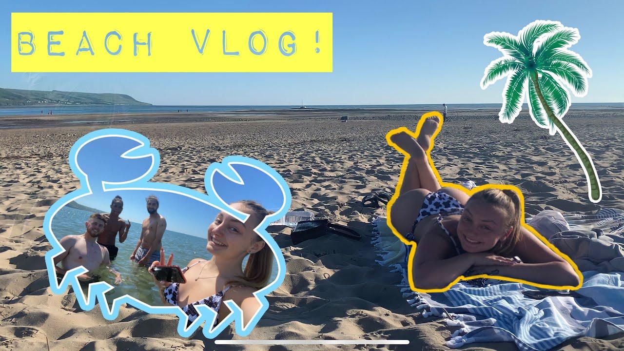 BEACH VLOG!