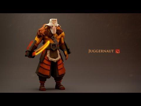 видео: dota 2 гайд juggernaut