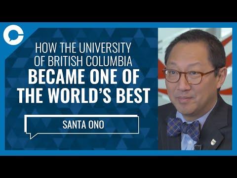 UBC President Santa Ono: University of British Columbia Amongst Best Universities in World