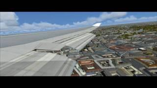 HD FSX Frankfurt-Heathrow British Airways (crew announcement sound)