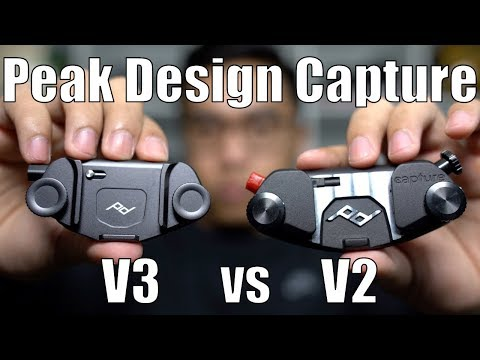 Peak  Design Capture V3 vs V2