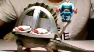 Dino Riders Dimetrodon Toy Review part 2