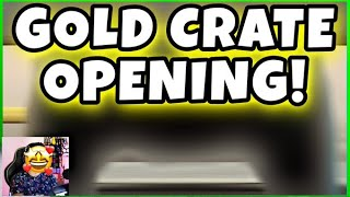 GOLD CRATE OPENING 2 BRAND NEW CARS IN MY GARAGE!! WOW | CSR RACING 2