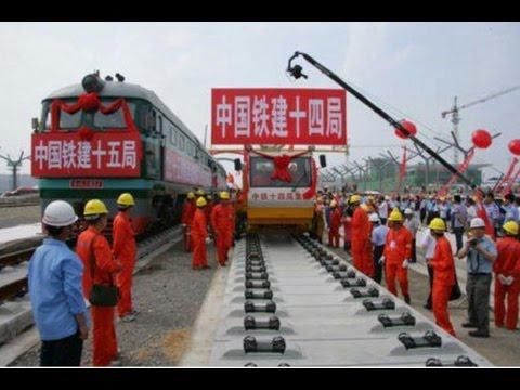 Chinos construirán Tren de Alta Velocidad México D.F.- Querétaro anuncia SCT