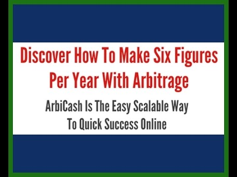 Review ArbiCash System LOOK  ArbiCash System Review