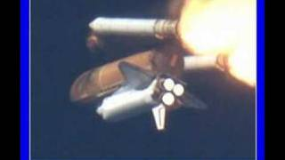 STS-117 Nasa Space Shuttle SRB Separation