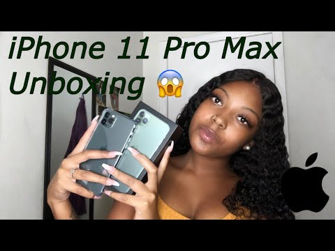 IPhone 11 Pro Max Unboxing | Midnight Green