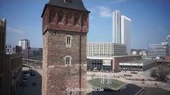 LUFTAUFNAHMEN Chemnitz / Roter Turm / Stadthalle - HD