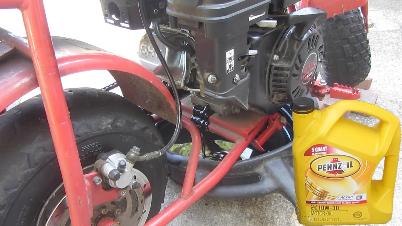 How to Change the Oil on a Doodlebug or Any Small Engine - YouTube