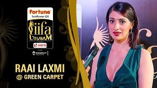 Raai Laxmi | IIFA Utsavam 2017 | Talk With The Stars | Green Carpet