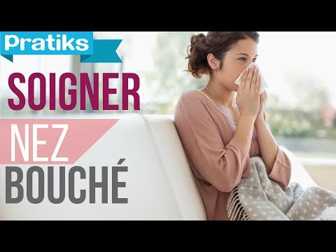 comment soigner un nez bouch youtube. Black Bedroom Furniture Sets. Home Design Ideas