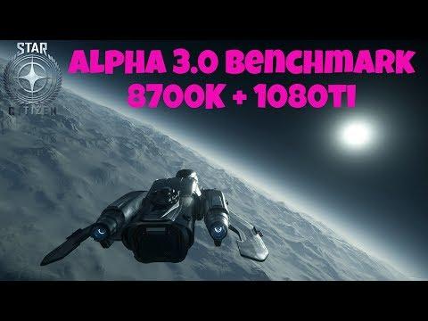 Star Citizen 3.0 Benchmark (Trading Run)   Port Olisar/Daymar    8700K + 1080ti   Very High (1440p)