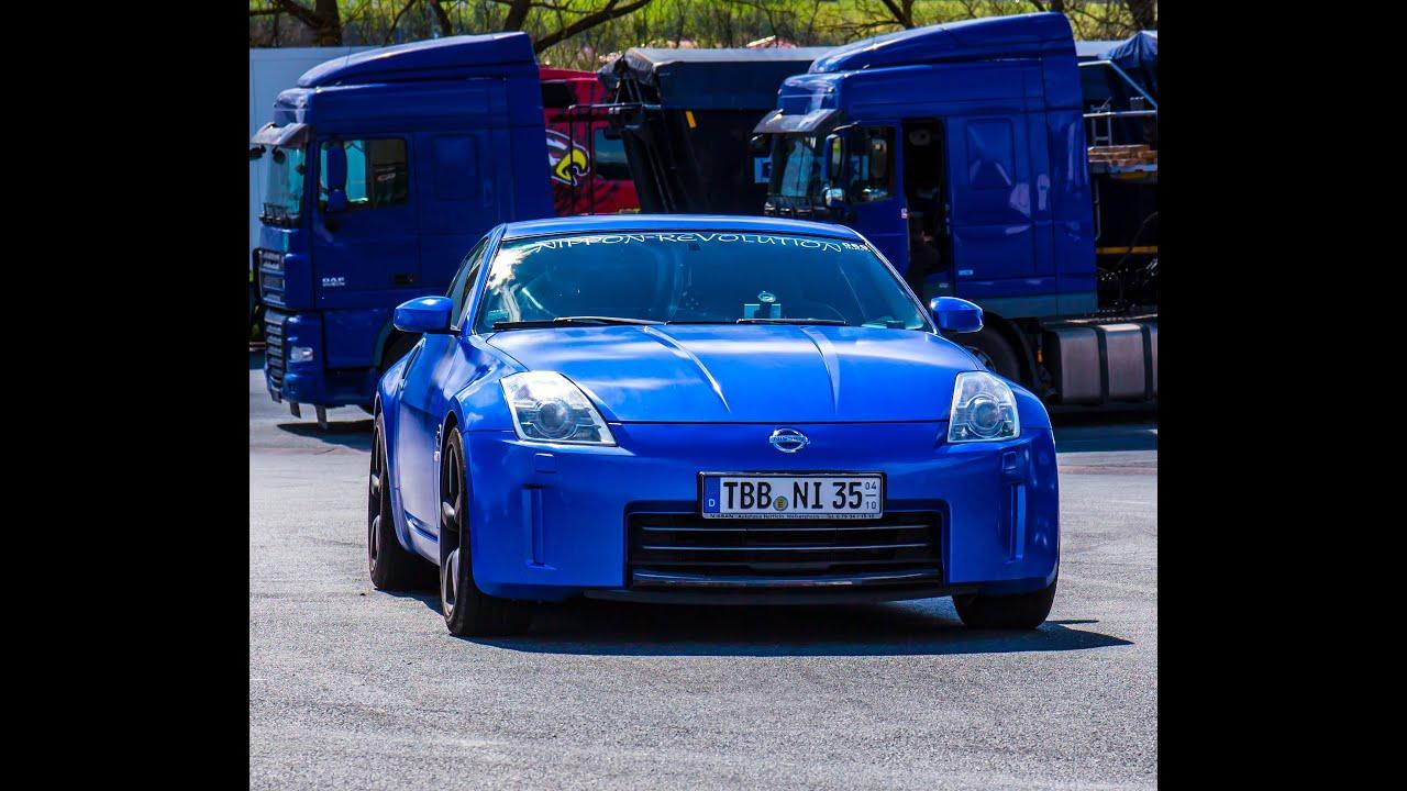 "Nissan 350Z dipped ""sky blue"" - YouTube"