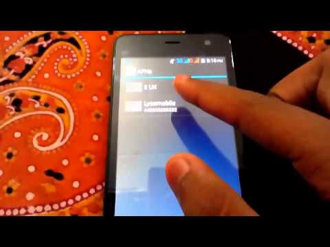 how to connect to simcard internet in HTC A106 OR MICROMAX A106