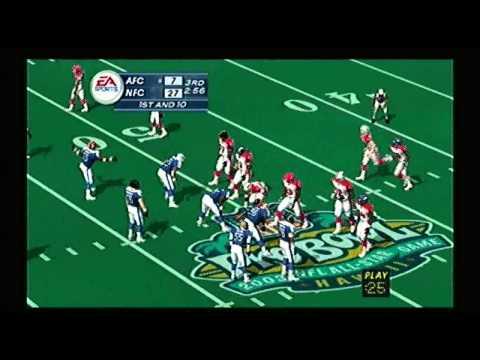 Madden NFL 2003 All- Star Game AFC vs NFC