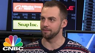 Team USA Luge Silver Medalist Chris Mazdzer At The NYSE | CNBC
