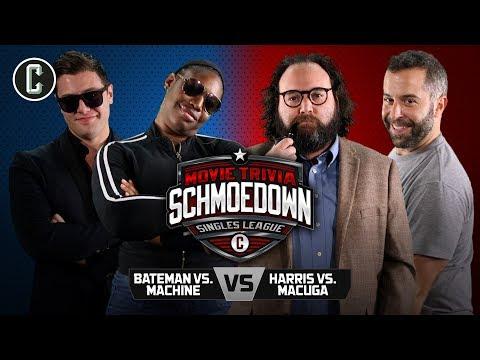 Ben Bateman VS Jeannine the Machine & Lon Harris VS Josh Macuga - Movie Trivia Schmoedown