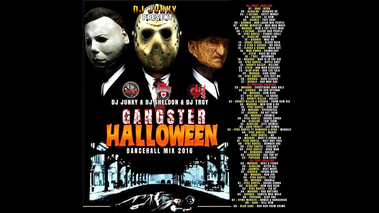 djjunky x silver bullet x djtroy - gangster halloween mixtape (oct