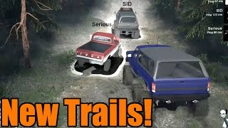 Spin Tires | Modded Multiplayer | Taking on New Trails!