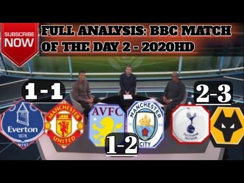MOTD 1 Tottenham vs Wolves 2-3 & Man United Draw Everton 1 ...